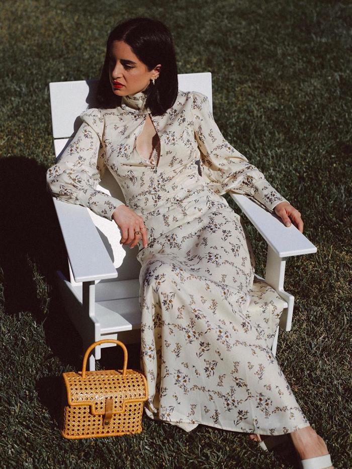 Never Fully Dressed Best Dresses: long white floral dress