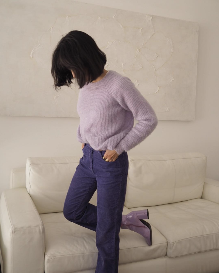 Pastel sweaters for fall