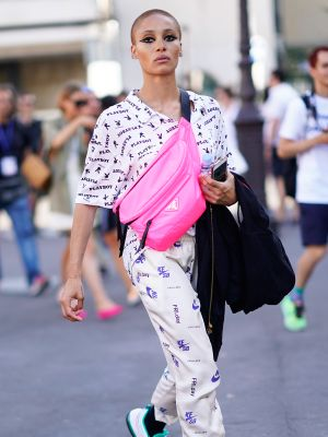 The Sneaker Trend Fashion Insiders Are Swapping Their Plain White Ones For