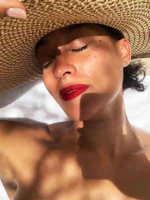 9 Universally Flattering Dark Red Lipsticks