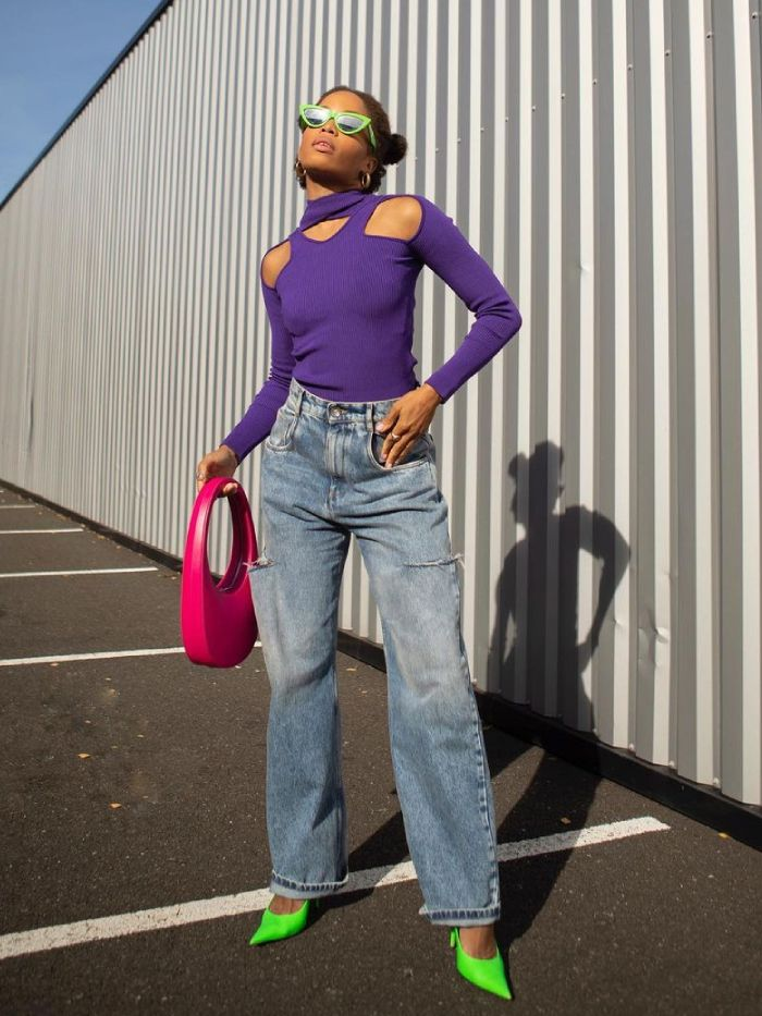 jeans and jumper outfits: @slipintostyle