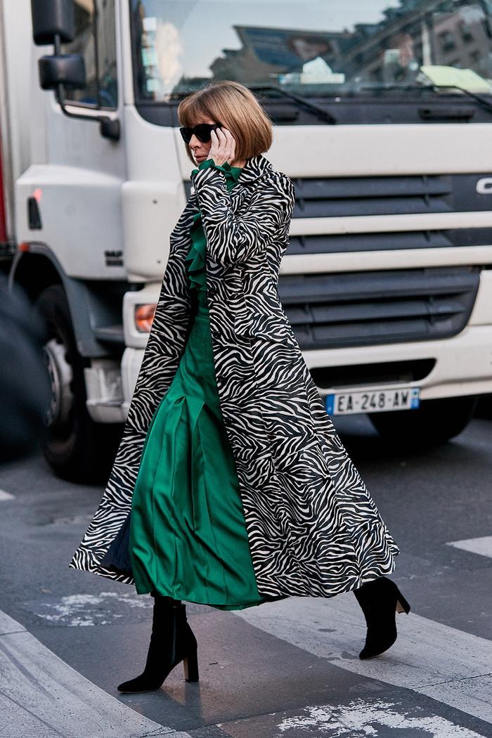 Anna Wintour street style