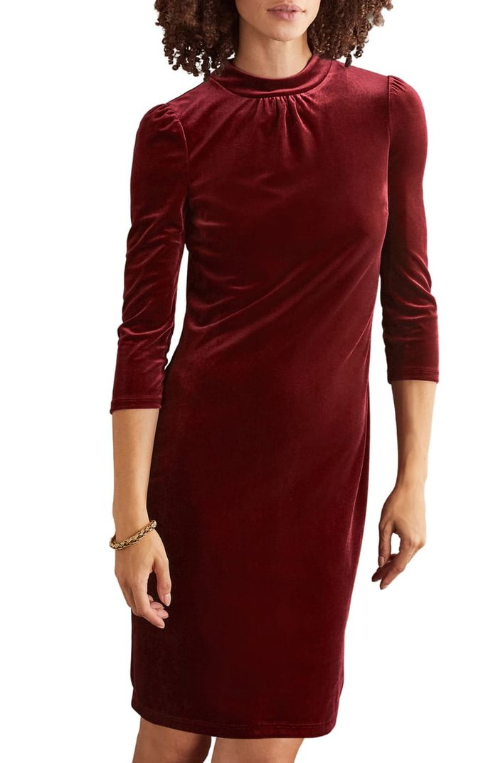 The 25 Velvet Holiday Dresses We Re Already Buying Who What Wear