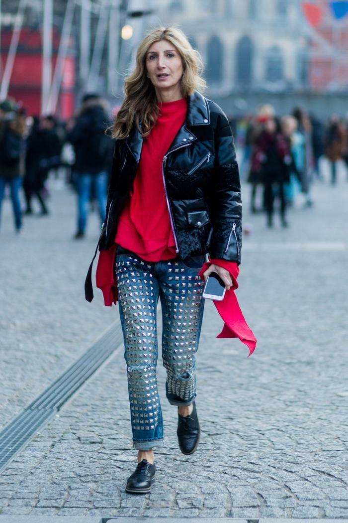 Sarah Rutson street style