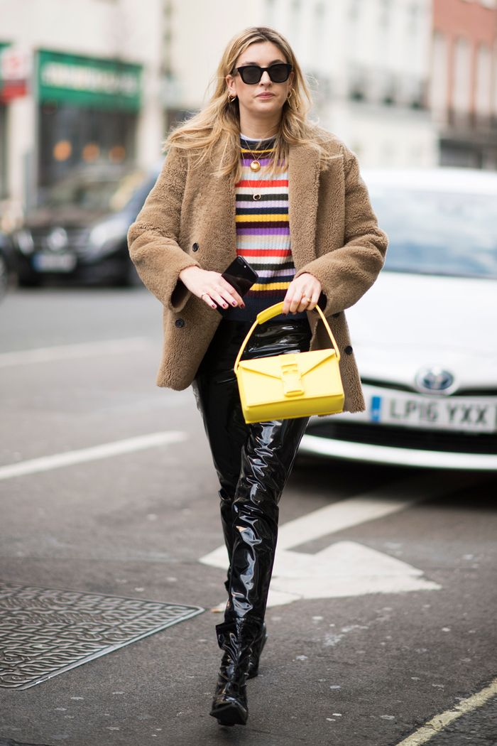 Striped Sweater Street Style