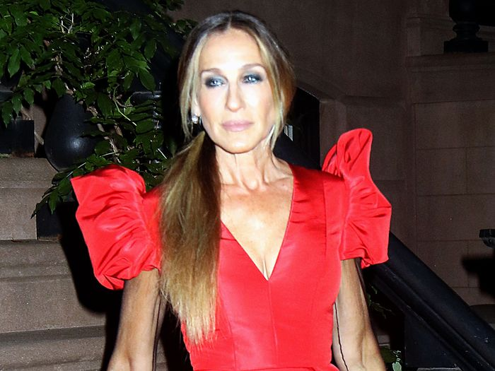SJP Did the Unthinkable and Found a New Type of Sheer Dress to Wear