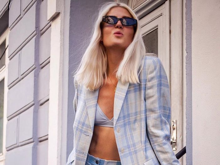Plaid Blazers to Wear Nonstop