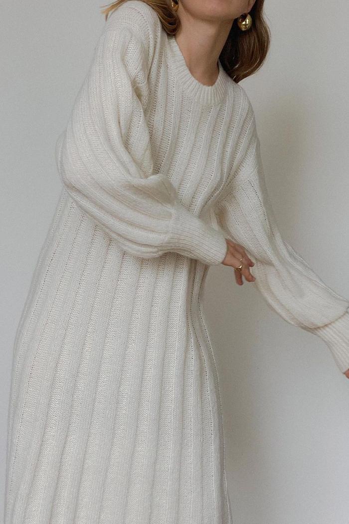 Best Winter Dress: knitted Dress