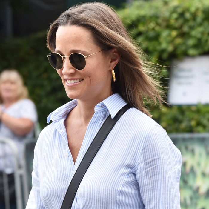 Pippa Middleton Styled Her Designer Sneakers in the Most Relatable Way