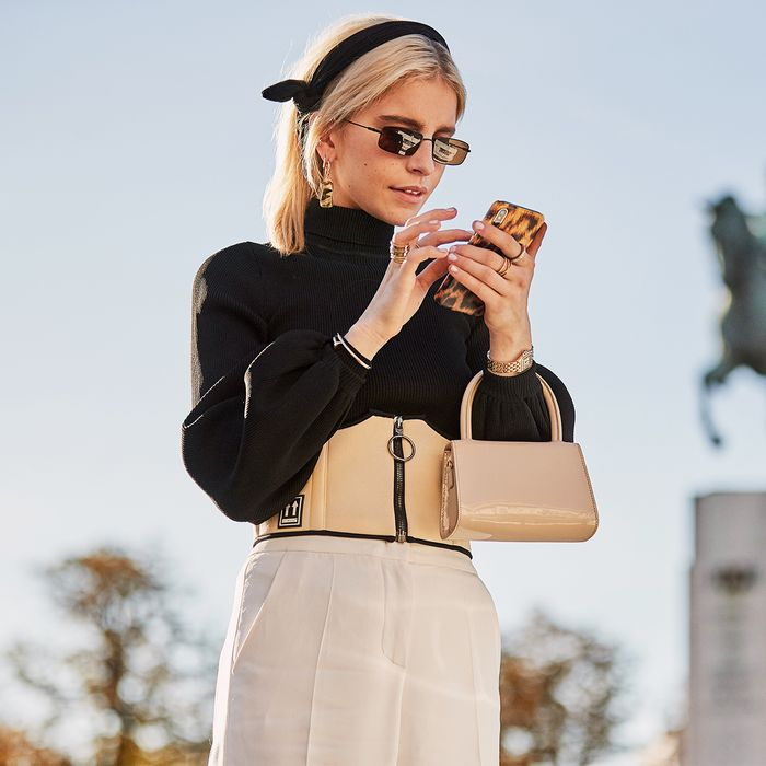 Paris Fashion Week Street Style: Caroline Daur