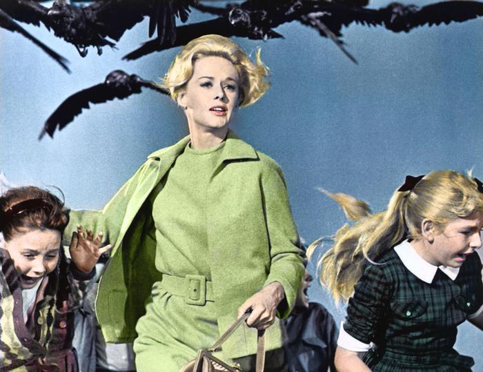 The Birds Tippi Hedren style