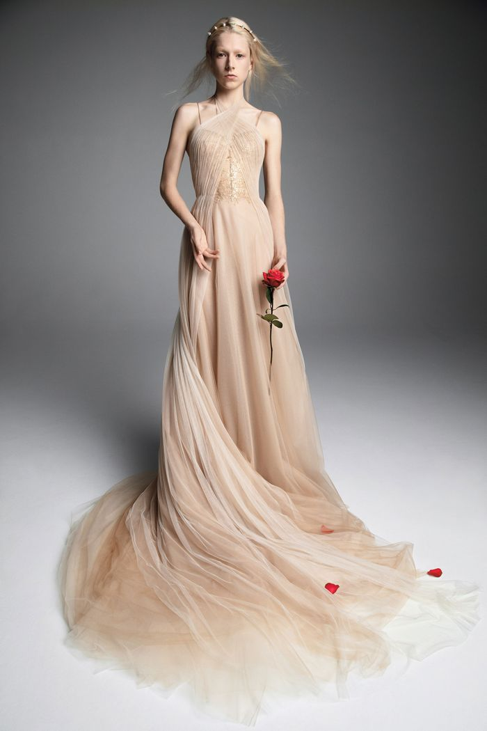 23 Unconventional Wedding Dresses That Are Pure Eye Candy   Who What Wear