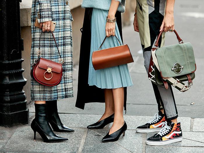 Street style shoe trends