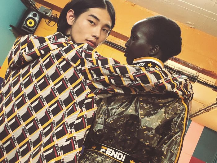 Fendi x Fila Collaboration
