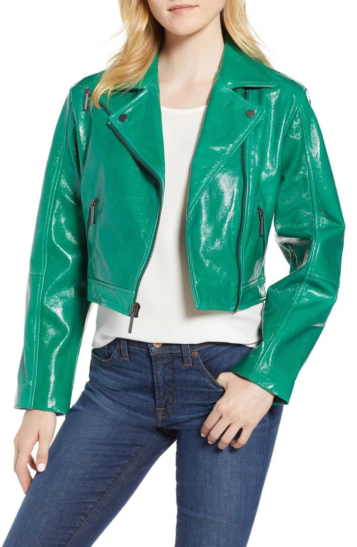 Best Cropped Patent Leather Jackets