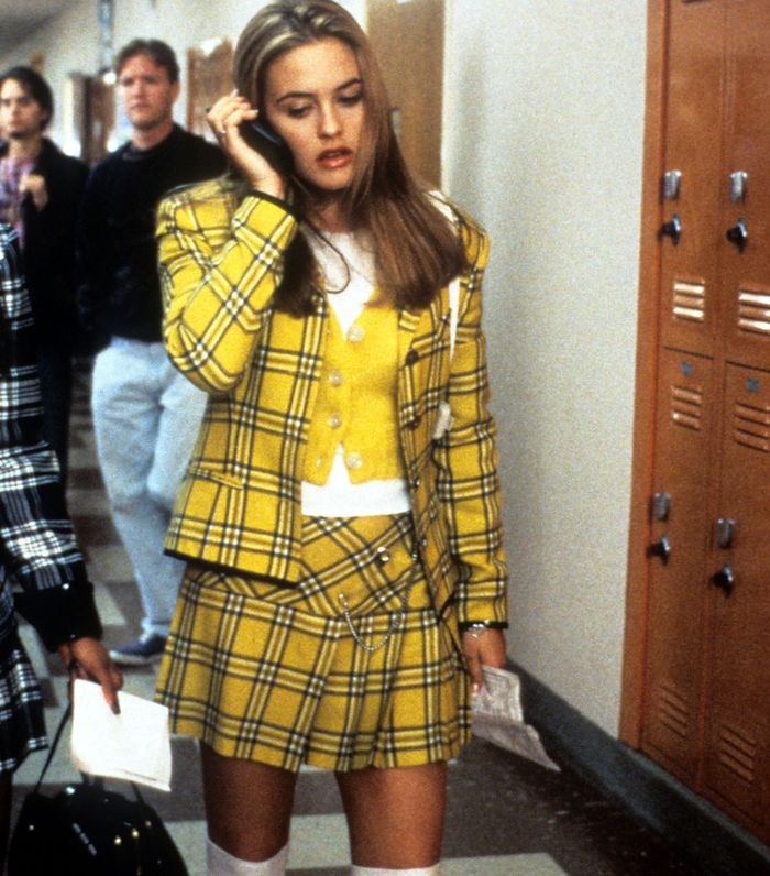 Yellow Check Trend: Cher Clueless Scene