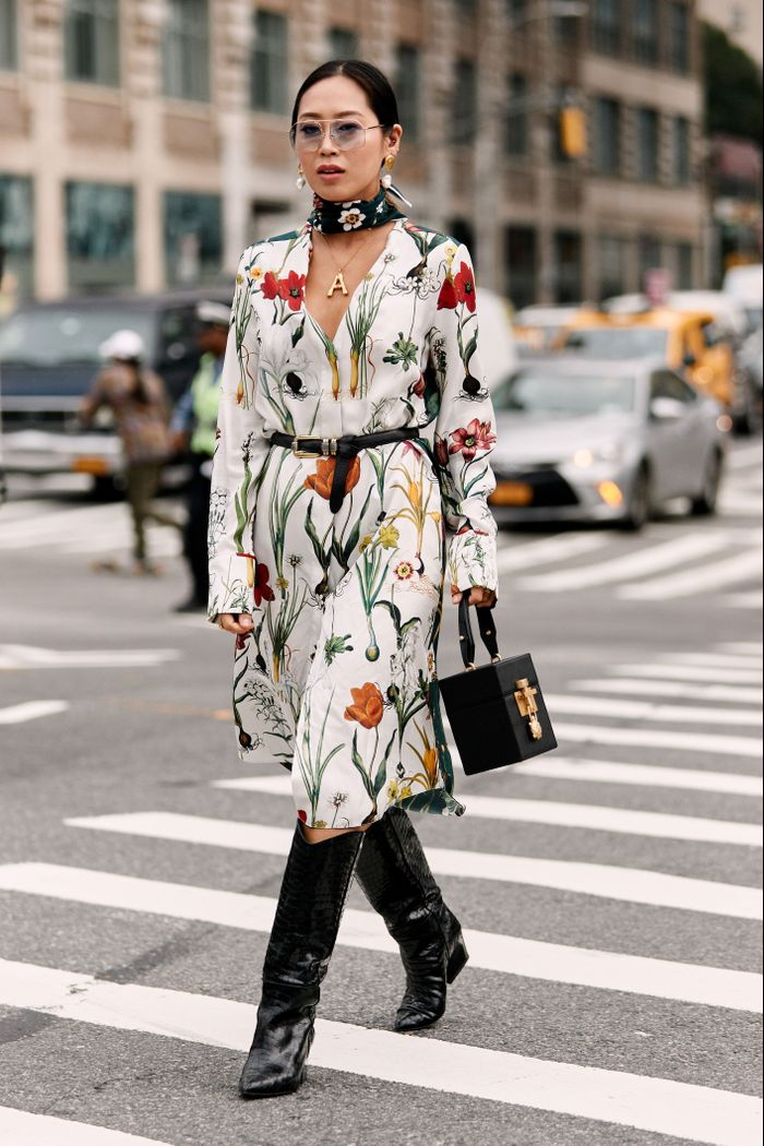 These 7 Dresses Look Amazing With Cowboy Boots
