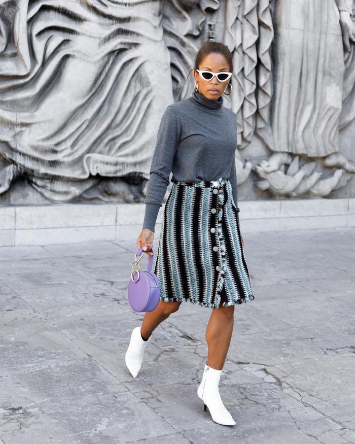 Tara Zadeh handbag outfits