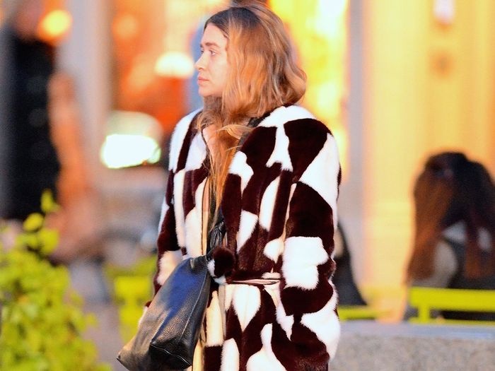 Ashley Olsen Wore These Classic Nike Sneakers for a Night Out in New York