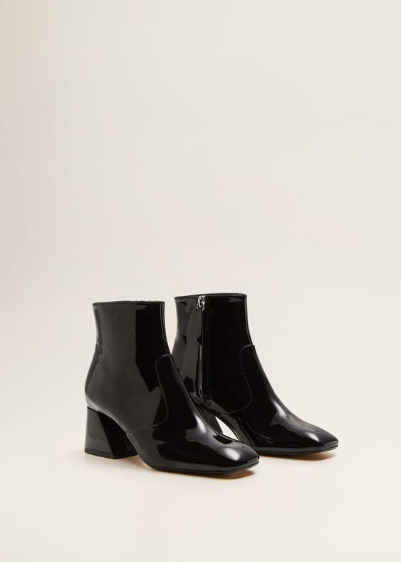 The Best Black Patent Leather Boots You