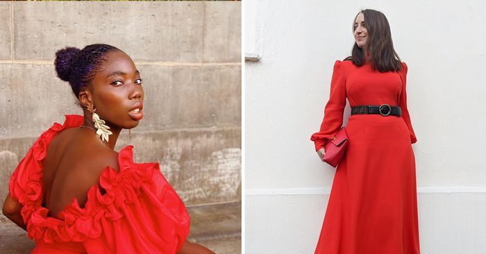 21 Red Christmas Dresses to Get You Right Into That Holiday Spirit