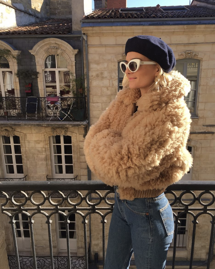 15 Faux Fur Jacket Outfits Will Never, White Fox Fur Coat Outfit