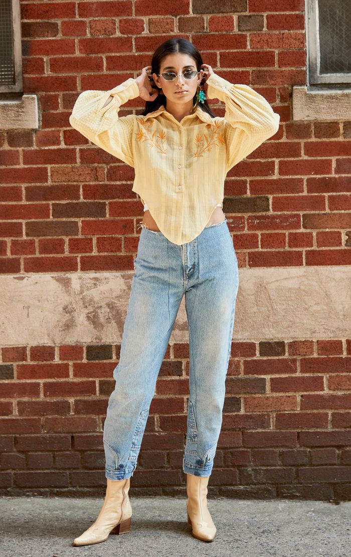 Stylish Denim Outfit for Fall