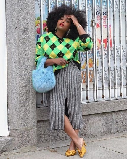 These 15 Green Sweater Outfits Will Brighten Up Your Winter