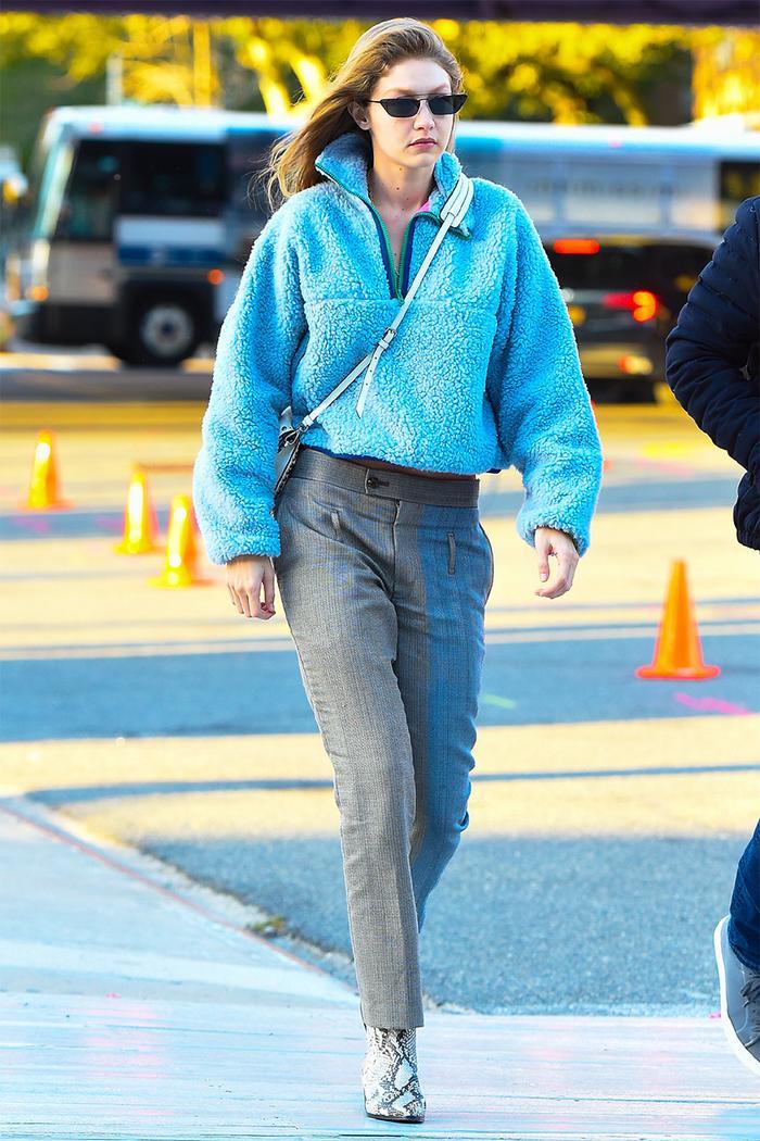Gigi Hadid winter outfit