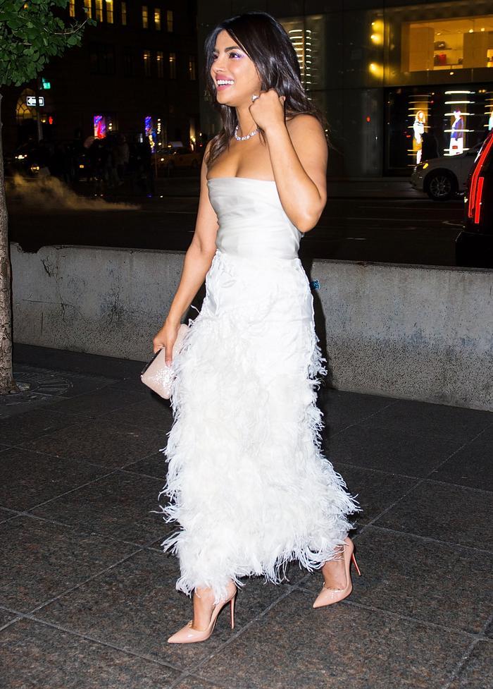 Priyanka Chopra Bridal Shower Outfit
