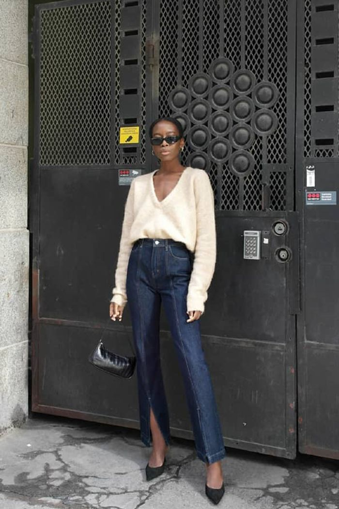 7 Sweater And Skinny Jeans Outfits I Plan To Copy Who What Wear