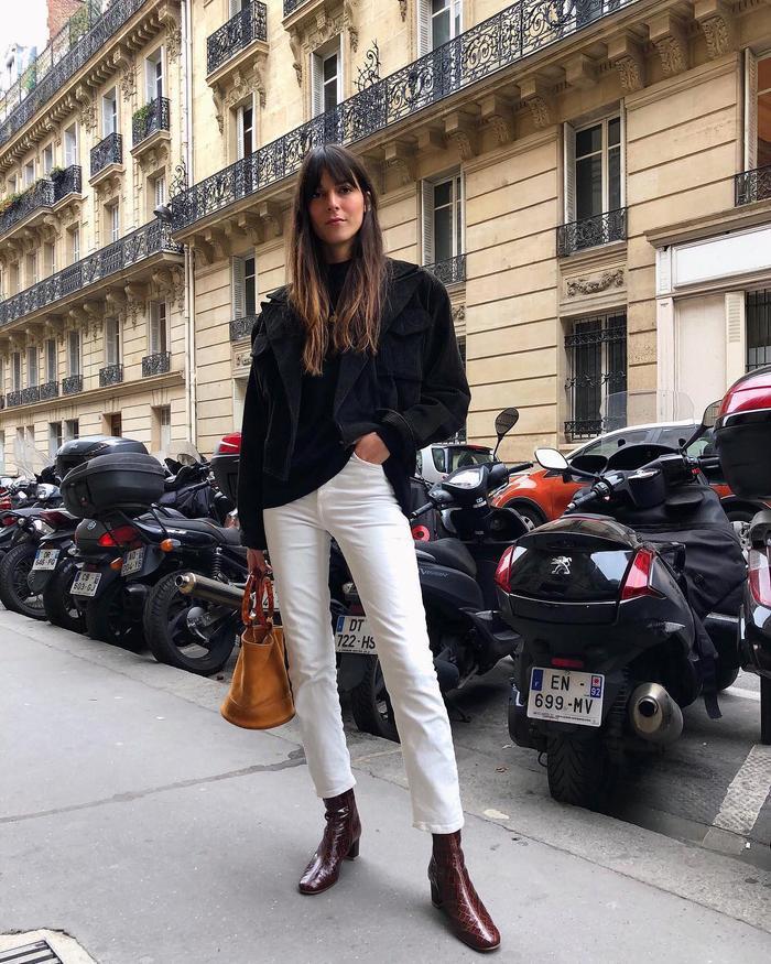 The best winter shoes for women: faux-croc boots