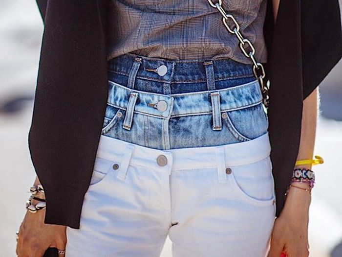 Layered Jeans Trend
