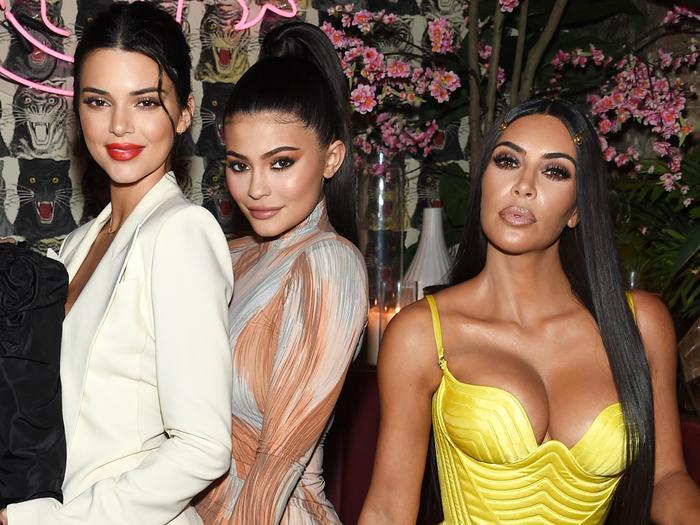Kardashian-Jenner Halloween Costumes: Lingerie