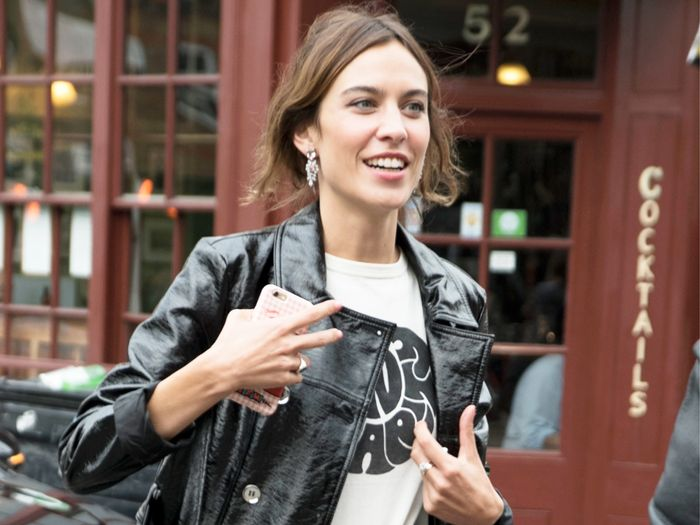 Alexa Chung T-Shirt Deep End Club