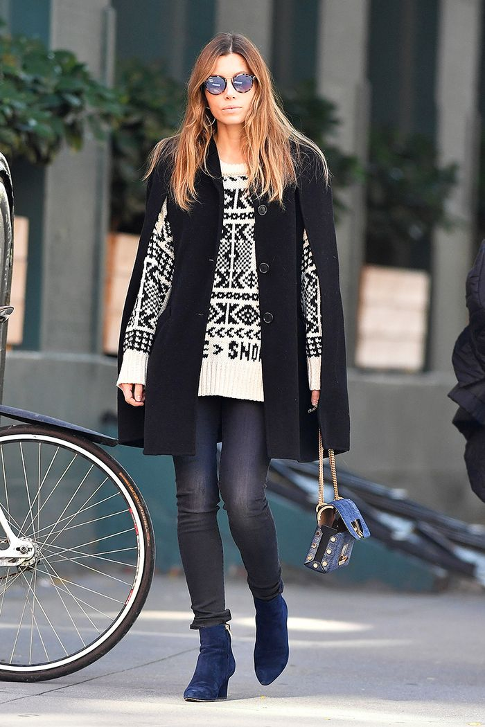 Jessica Biel skinny jeans