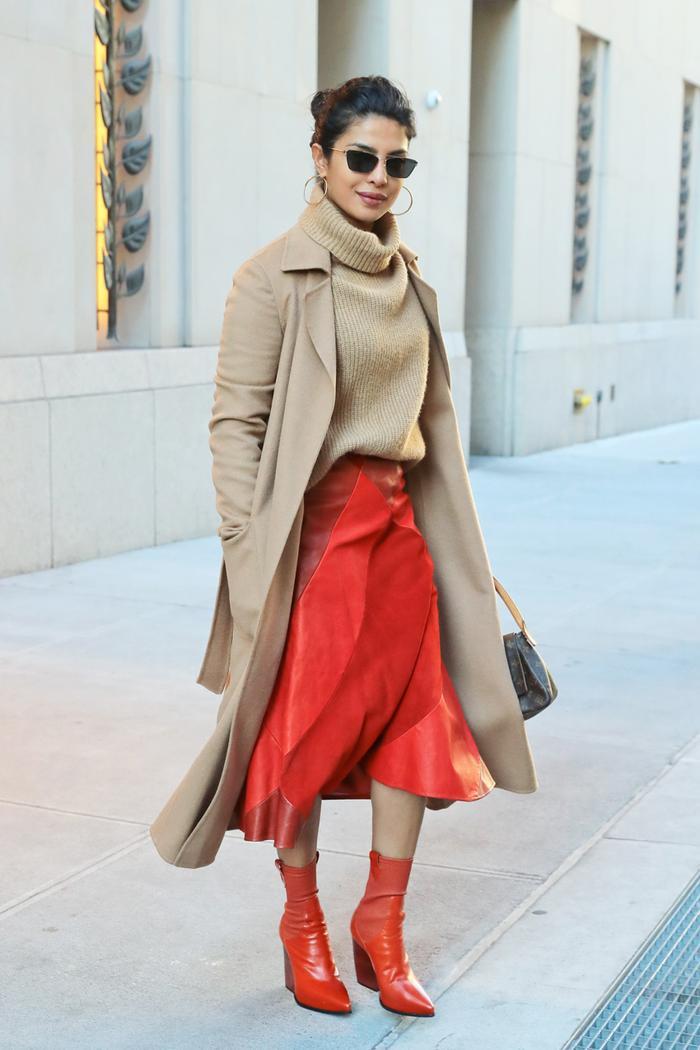 Priyanka Chopra fall outfit