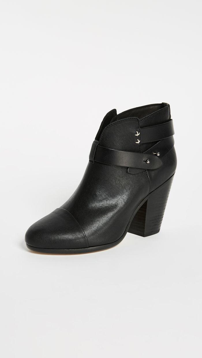 The 20 Best Black Ankle Boots With Top