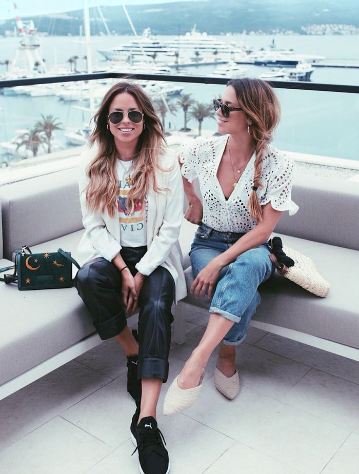 What to Wear on a Long-Haul Flight: The Collyer twins share their in-flight secrets