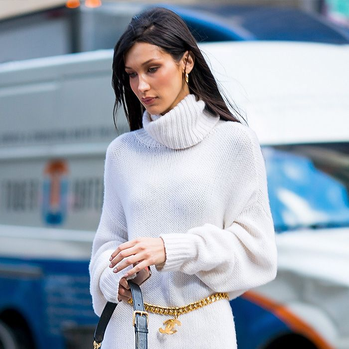 Bella Hadid Wore a $5000 Outfit, But It's Her $45 Earrings I'm After