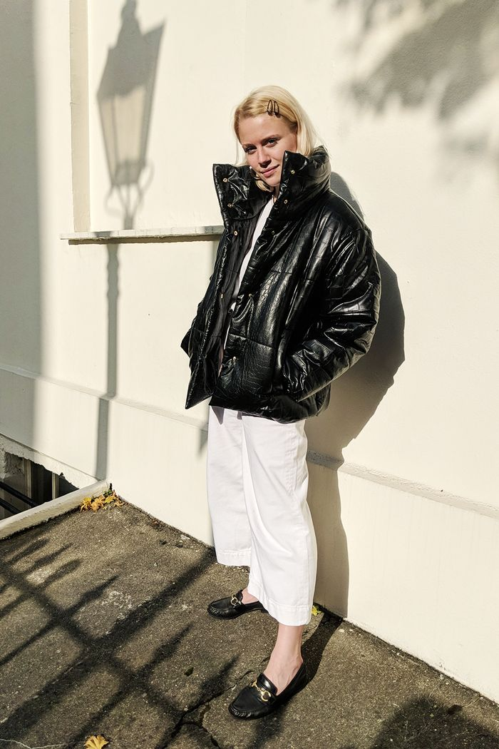 Best denim brands: Isabel Mundigo-Moore wearing COS jeans