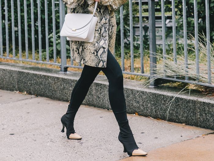 Fall boot trend: dual textures