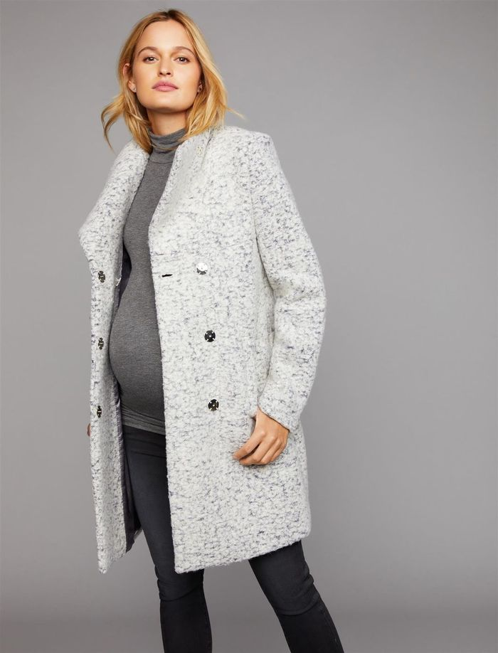 21 Maternity Jackets That Are Warm And Stylish Who What Wear