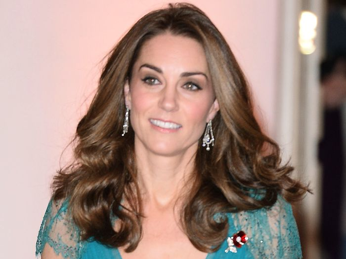 Kate Middleton's Sheer Dress