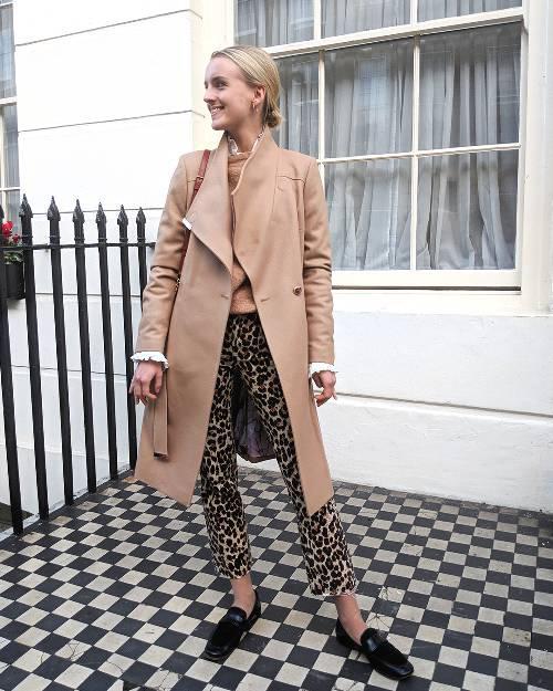 Ted Baker coats: Joy Montgomery wearing Ted Baker Sandra coat