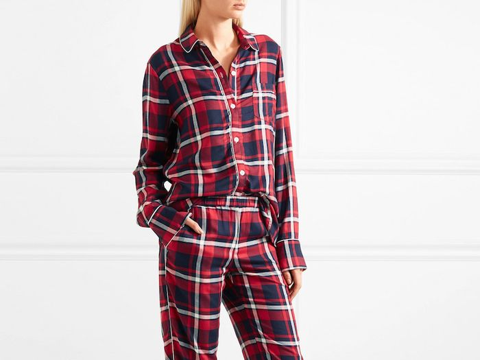 You'll Want to Live in These Flannel Pajamas