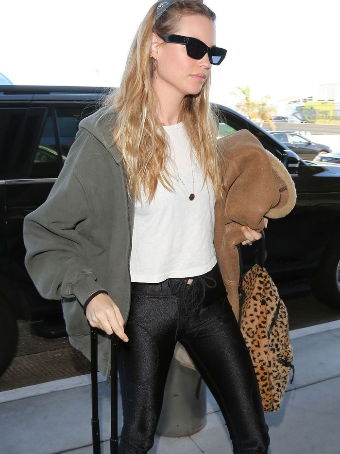 The Coolest Boot Style to Wear to the Airport
