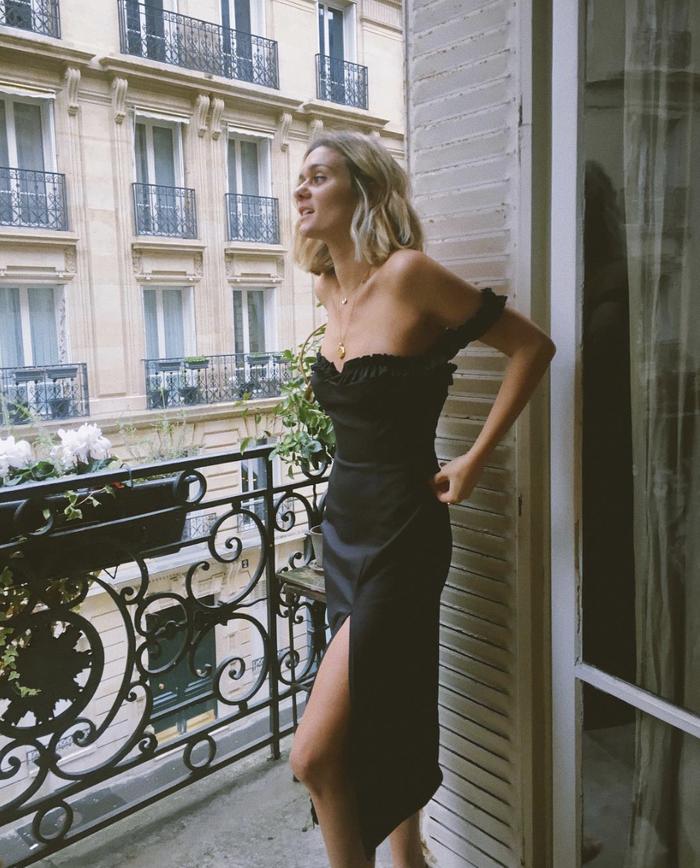 Black New Year's dresses