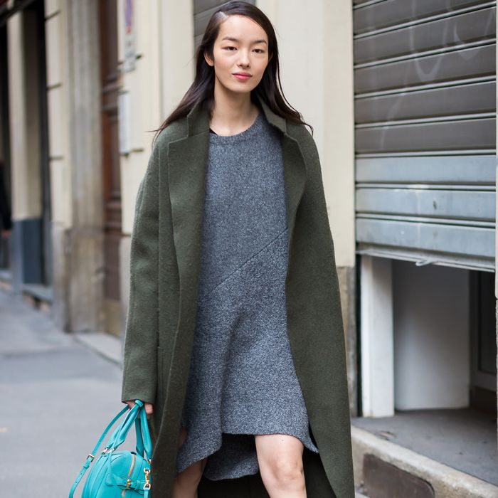 The 13 Coziest Sweaterdress Outfits for Winter | Who What Wear