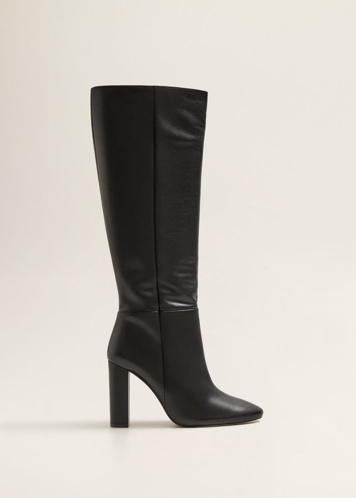 These Black Knee-High Boots Will